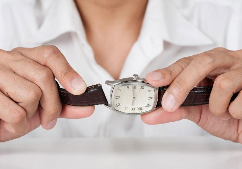 Service Armbanduhr Armband austauschen